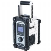 Makita DMR109W DAB/FM Site Radio - Black & White Edition (Body Only)